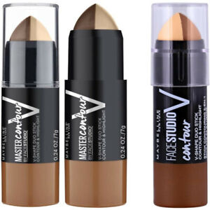 MAYBELLINE Master Contour & Highlight V-Shape Duo Stick 7g Choose Your Shade