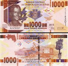 GUINEA 1000 francs 2015 FDS - UNC