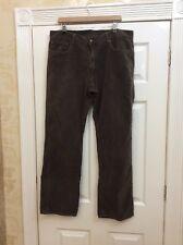 "Marlboro Classics Brown Moleskin Jeans 38"" Waist 31"" Leg Vgc (0)"