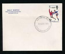 GB 1966 FOOTBALL WORLD CUP WINNERS FDC...DAILY SKETCH ENVELOPE