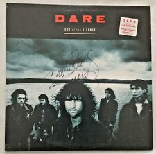 "Autographed Dare ""Out of the Silence"" Vinyl Darren Wharton (Thin Lizzy)"