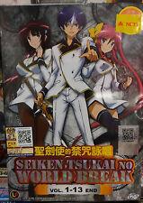 Anime DVD: Seiken Tsukai no World Break (1-12 End)_Good Eng Sub_FREE SHIPPING
