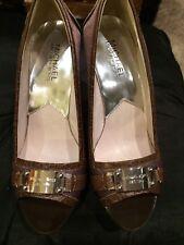 Tribunal Zapatos Marrón Michael Kors UK 4.5