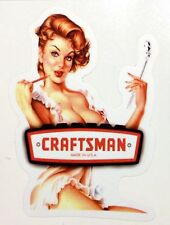 CRAFTSMAN TOOLS STICKER RAT ROD HOT ROD STREET ROD HARLEY MOTORCYCLE