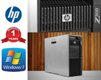 HP Workstation Z800 2x Xeon X5675 12-Core 3.06GHz 96GB DDR3 6TB HDD + 240GB SSD