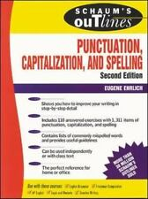 Schaum's Outline of Punctuation, Capitalization and Spelling by Eugene...