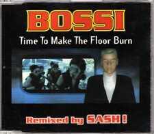 Bossi - Time To Make The Floor Burn - CDM - 1998- Eurodance 4TR Sash! CNR France