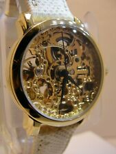 AKRIBOS XXIV AUTOMATIC WATCH STAINLESS STEEL BACK, CONDITION IS VERY GOOD