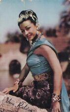 "VERA  RALSTON - hollywood  1953  MOTHERS COOKIES "" movie  stars ""  card/SCARCE"