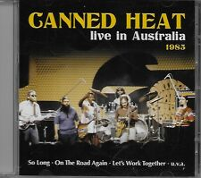 Canned Heat ‎– Live In Australia 1985 CD