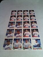 *****Terry Burrows*****  Lot of 20 cards.....4 DIFFERENT / Baseball