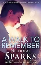 A Walk To Remember by Sparks, Nicholas | Paperback Book | 9780751551877 | NEW