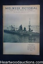 N.Y. Times Mid-Week Pictorial Jul 27, 1935 Britain's Fleet Drawn up for review b