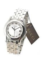 Gucci Herrenuhr G-Class Edelstahl Silber Analog Quarz YA055305