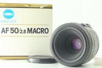 [NEAR MINT+++ BOX] Minolta Macro 50mm F2.8 AF Lens For Sony A Mount Japan
