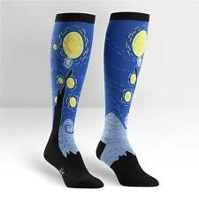 Starry Night on Women's  Knee High Socks by Sock It To Me
