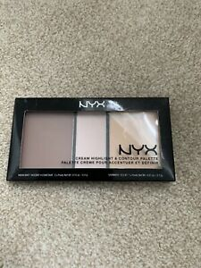 Nyx Cream Highlight & Contour Pallet Light
