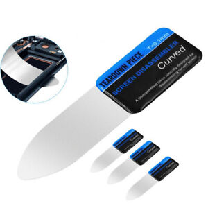 Curved LCD Screen Spudger Opening Pry Card Tools Ultra Thin Flexible For Phone