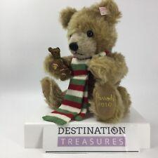 Steiff Harrods Christmas Bear Archie Gingerbread 2010 Growler EAN 663833 Signed