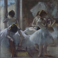 Dancers by Edgar Degas, Giclee Canvas Print, in various sizes