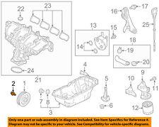 MAZDA OEM 12-15 3 Engine Parts-Crankshaft Crank Pulley Bolt PE0111406
