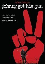 Johnny Got His Gun 0826663113129 With Donald Sutherland DVD Region 1