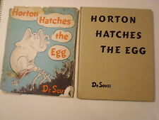 Horton Hatches the Egg, Dr Seuss, DJ, Early Edition, 1958