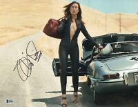 OLIVIA WILDE SIGNED 11X14 PHOTO AUTHENTIC AUTOGRAPH BAS BECKETT COA  13