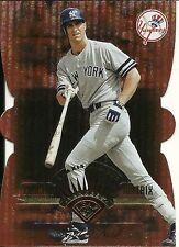 1997 Leaf Fractal Matrix Die Cut Bronze Paul O'Neill 92 Yankees