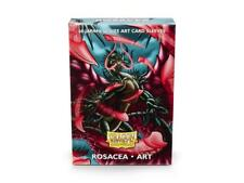 Dragon Shield Deck Protector Sleeves Japanese size NEW ROSACEA Art 60 YUGIOH