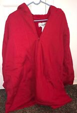 All American Comfort, womens Red Zip Up Hoddie. Size 1X. (12P)