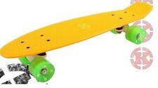 Krunk Retro 81 Kicktail Skateboard ORANGE Age 5 Years+ Up to 100kgs