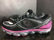 Brooks Pure Flow Black and Hot Pink Running Shoes Women's 6M - B1