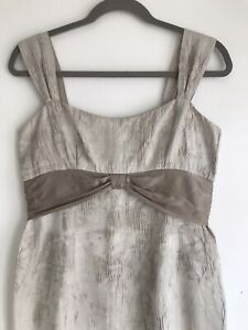 Paddy Campbell Vintage Silver Cocktail Dress Size 12