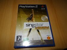 Singstar Legends Sony Playstation 2 ps2 (New Sealed) pal version