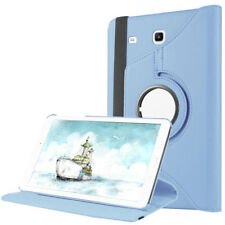 360 Rotating Swivel Leather Case Cover For Samsung Galaxy Tab E 8.0 SM-T377