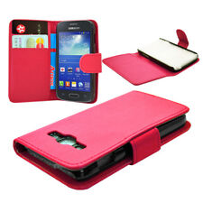 pink WALLET Case with Card Slots for Samsung Galaxy Ace 3 s7272 UK FAST POST