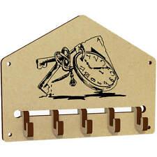 'Clock Keys' Wall Mounted Key Hooks / Holder (WH00009533)