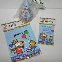 Maisy Lucy Cousins Plastic Loot Bags Hats Invitations Birthday Party Supplies