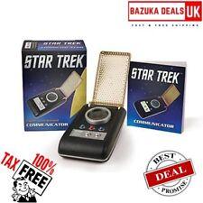 Star Trek Communicator Replica Kit Includes Paperback Booklet Great Gift