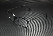 PRADA PR 16UV 1AB1O1 Conceptual Black Demo Lens 55 mm Men's Eyeglasses