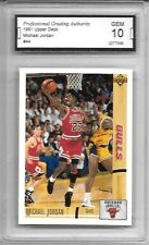 1991 Upper Deck #44 Michael Jordan HOF GEM 10