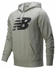 New Balance Men's Core Fleece Hoodie Grey