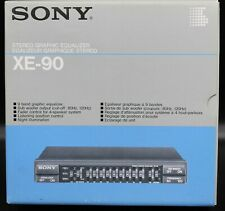 Excellent Sony Xe-90 Stereo 9 Band Graphic Equalizer in Box Xe90