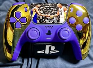 Kobe Themed Ps5 PlayStation 5 Controller Sony DualSense Custom