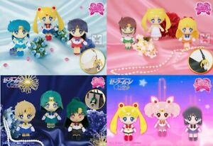 NEW Sailor Moon Crystal Mascot Plush Doll w/Ball Chain 12 Types Official Japan
