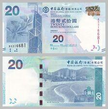 Hongkong / Hong Kong 20 Dollars 2010 p341 unc.