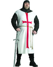 Templar Knight Mens Plus Size Costume Size PLUS