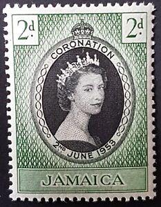 Jamaica - 1953 - Sc 153 - QEII Coronation VF MH