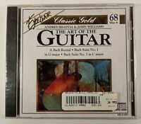 Andres Segovia & John Williams: The Art Of The Guitar ~ (CD, 1995) FREE SHIPPING